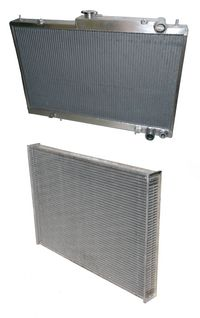 High performance aluminium radiators - Universal Coolers